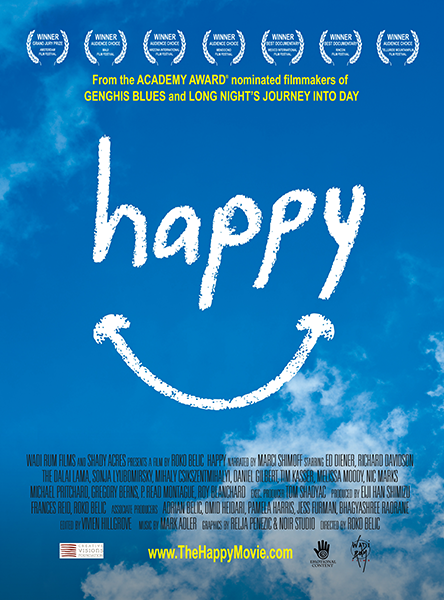 poster de documental happy